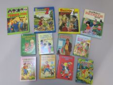 Enid Blyton books and annuals, books include The Three Golliwogs, Book of Brownies, Sunshine Book,