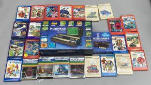 Mattel Electronics Intellivision Intelligent Television Master Component games console in original