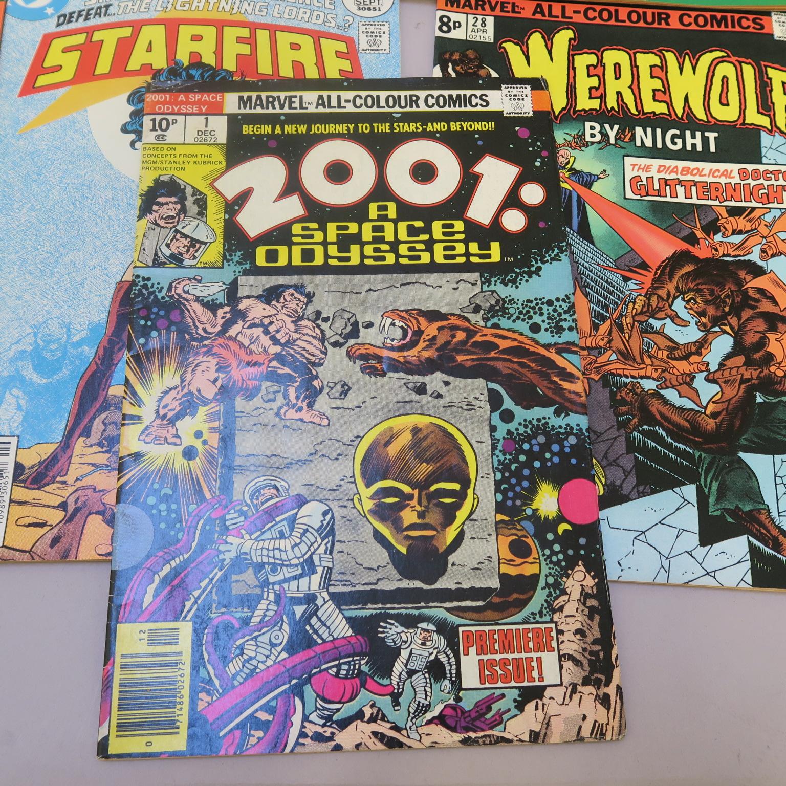 Lot 13 - Marvel Comics including 2001 A Space Odyssey #1, Ms Marvel #2 - 6, 14, Man called Nova #9, 13 &