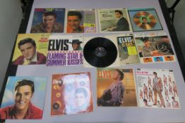 Elvis Presley LPs x 12, including Flaming Star & Summer Kisses RD 7723, Elvis Christmas Album RD