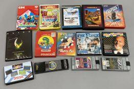 14 boxed Commodore 64 (C64 CBM 64) games console games. (14) [NO RESERVE]