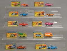 10x Matchbox Superfast models, all boxed.