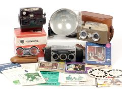 View Master Stereo Camera with Viewer etc.