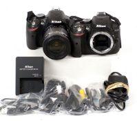 Nikon D3200 & Nikon D5300 DSLRs.
