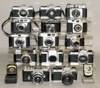 35mm Cameras & Lenses from Closed-Down Shop.