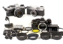 Olympus End Lot to Include Quickmatic EEM.