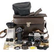 Nikon FT Photomic with Nikkor-S f1.4 Lens.