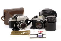 Early Nikon F with TN Finder & 5cm Lens.
