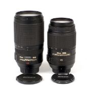 Two Nikon AF VR Lens for SPARES or REPAIR only.