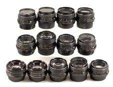 Pentax 50mm M f1.4 & Other PK Lenses.