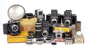 Extensive Quantity of AGI Agiflex Equipment.
