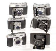 Kodak Retina IIIC & Various Other Cameras.