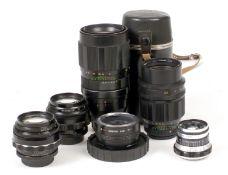 Soviet M42 Fit & Other Mounts Lenses.