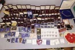 EX SHOP STOCK - A boxed quantity of mainly silver jewellery