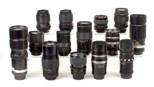 Sigma XQ, Soligor Chinon & Other M42 Fit Lenses.