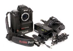 Kodak DCS760 Nikon F5-Based DSLR.