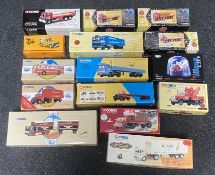 26x assorted diecast models including Corgi Classics, Corgi Cafe Collection and Vanguards