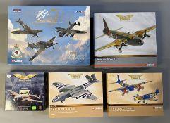 5 Corgi Aviation Archive model aircraft: AA39911 Battle Of Britain Memorial Flight Set, AA34803, 473