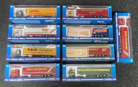 9x Universal Hobbies 1:50 scale Commercial vehicle models all limited edition examples, all boxed.