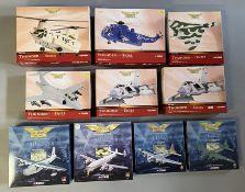 10 Corgi Aviation Archive model aircraft: AA34204, AA33410, AA31203, AA34105, 2x AA33606, 48801, 475