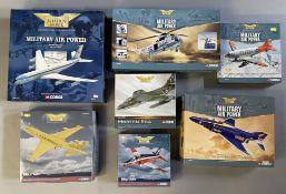 7 Corgi Aviation Archive models: AA32901, AA3402, AA30002, AA35601, AA32707, AA36002, AA33203. All b