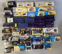 Excellent lot of 48 assorted diecast models, mostly by Corgi - including TV/film related examples. A