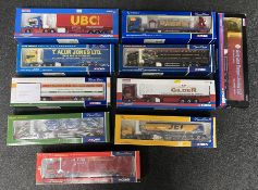 10x Corgi 1:50 scale Commercial vehicle models including Limited Edition examples, all boxed.