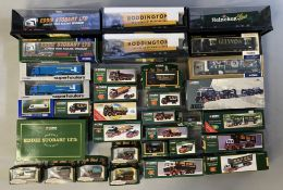 33 assorted Corgi models, mostly Eddie Stobart. All boxed.