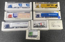 8x Universal Hobbies 1:50 scale Commercial vehicle models including Limited Edition examples, all