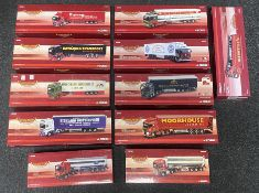 11x Corgi 1:50 scale Haulers of Renown models including Limited Edition examples, all boxed.