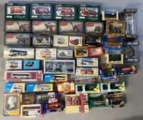 Excellent lot of 45 assorted diecast models, mostly by Corgi - including TV/film related examples an