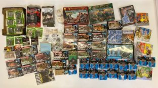 A good quantity of wargaming and roleplaying figures and sets including Ogre, Axis and Allies etc.