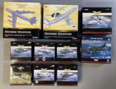 10 Corgi Aviation Archive model aircraft: AA33506, AA32913, AA38001, AA37602, AA32414, AA37602, AA32