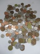 A collection of Irish coinage