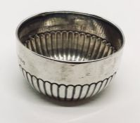 A Chester hallmarked silver bowl. Weight 57.9g
