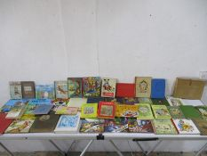 A box of miscellaneous children's books and booklets, comprising of twenty eight hardback books