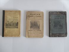 "Three softback ""Guides to Exeter and Cathedral"" Published by William Pollard & Co circa 1890 - 1910"