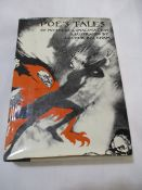 "Two hardbacks ""Poe's Tales"" by Edgar Allan Poe, illustrated by Arthur Rackham with dust jacket."