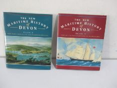 "Two hardbacks ""The New Maritime History of Devon. Vol One - From Early Times to Late Eighteenth"