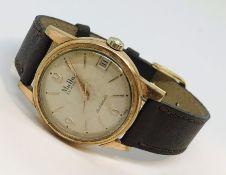 A MuDu doublematic gentleman's wristwatch