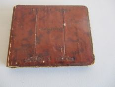 A vintage autograph book circa 1930 with various drawings, poems etc.
