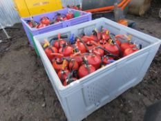 2 x STILLAGES OF FIRE FIGHTING EQUIPMENT This item is being item sold under AMS…no vat will be on