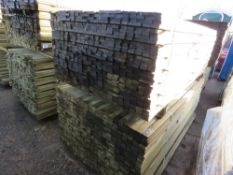 2 X PACKS OF FENCING/TRELLIS SLATS 1.83M X 4.8CM WIDTH APPROX