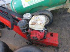 HONDA 11HP ENGINED FLOOR GRINDER, INCOMPLETE