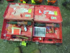 2 X HILTI DXA41 CARTRIDGE NAIL GUNS IN CASES......SOURCED FROM COMPANY LIQUIDATION