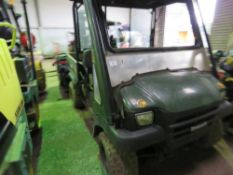 KAWASAKI 3010 4WD UTILITY VEHICLE YEAR 2004..DIRECT EX LOCAL FARM HAVING BOUGHT A LATER MACHINE