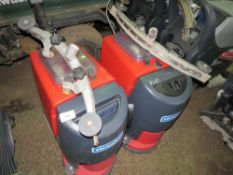 2 X CLEANFIX RA431 FLOOR CLEANERS, NO BATTERIES...CONDITION UNKNOWN This item is being item sold