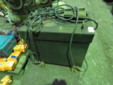 LARGE SIZED OIL FILLED ARC WELDER, 3 PHASE POWERED This item is being item sold under AMS…no vat