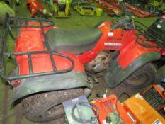 HONDA BIG RED 2WD QUAD BIKE KEY IN OFFICE