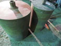 2no. Large diameter core drills This item is being item sold under AMS…no vat will be on charged
